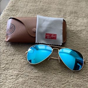 Original Ray-Ban Aviator Baby Blue sunglasses
